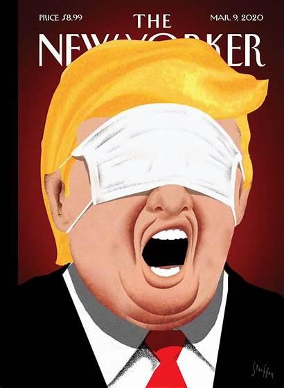 Trump Yorker Mask Coronavirus Eyes