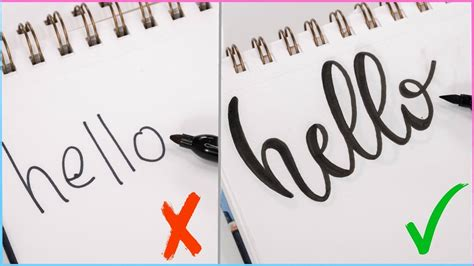 How To Calligraphy & Hand Lettering For Beginners! Easy Ways To Change Up Your Writing Style