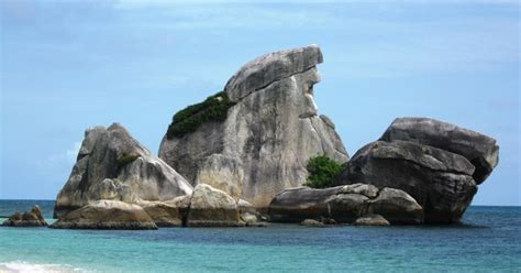 lokasi wisata  negeri laskar pelangi laskar pelangi