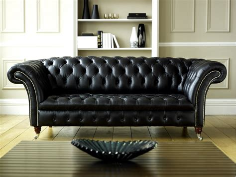 black leather chesterfield sofa black leather chesterfield balston chesterfield sofas