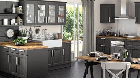 plan de travail cuisine bois brut davaus cuisine grise et plan de travail bois avec