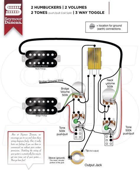 Wiring Diagrams Seymour Duncan More