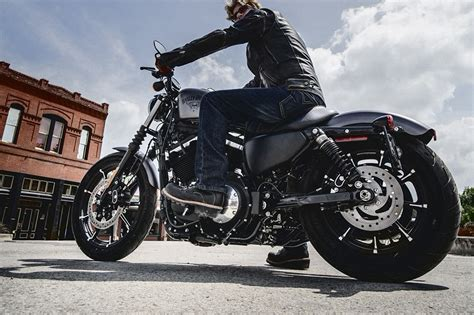 2016 Harleydavidson Iron 883 Receives Suspension Upgrades Autoevolution