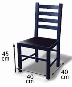 Dimension Chaise Standard : technologie restaurant le mobilier le mat riel et le linge au restaurant ~ Melissatoandfro.com Idées de Décoration