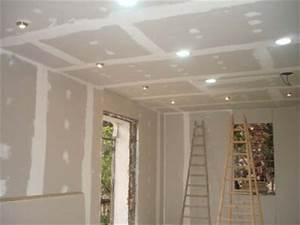 Installer Faux Plafond : blog de placoplatre page 3 faux plafonds et d coration ~ Melissatoandfro.com Idées de Décoration