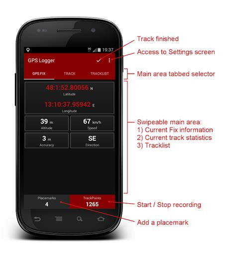gps logger for android gps logger android apps on play