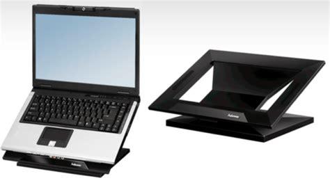 support ordinateur bureau un support pour placer portable à la même hauteur qu