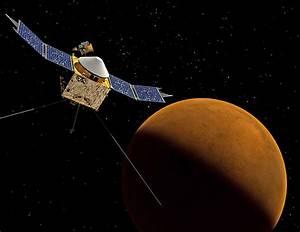 NASA's MAVEN spacecraft to examine Solar Wind's roll in ...
