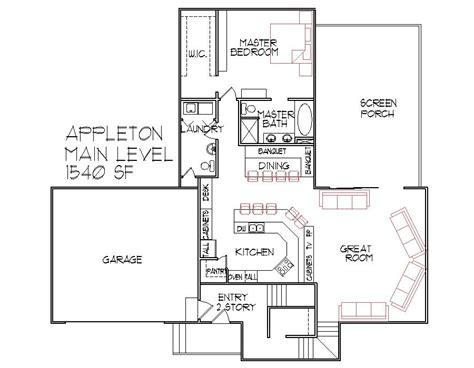 House Blueprints for Houses 3 Bedroom Home Floor Plans 2 ...