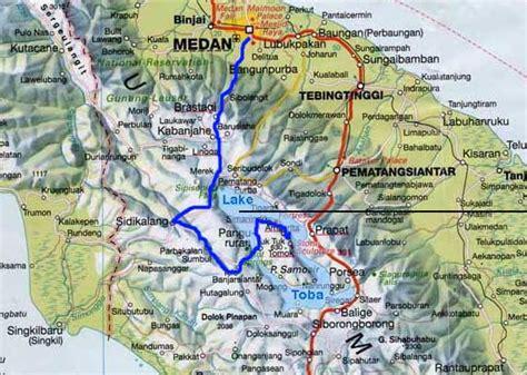 medan north sumatra map