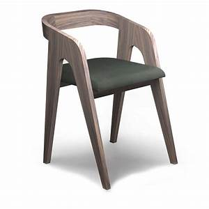 The walnut chair salome audrey savelon meubles design for Chaise design