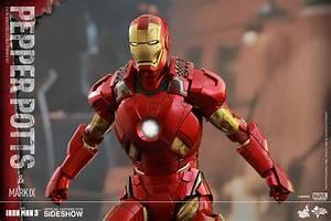 Iron Man 3: Pepper Potts and Iron Man Mark 9 - MMS311 ...