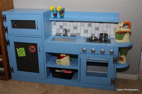 play kitchen from furniture ana white one piece play kitchen diy projects
