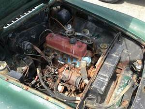Purchase Used 1967 Mgb Roadster  Factory Brg  Black  Wire