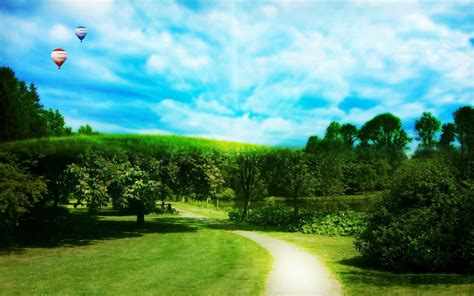 wallpapers green nature wallpapers