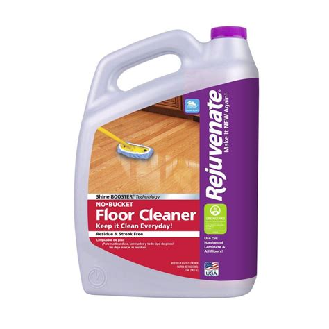 wood floor disinfectant rejuvenate 128 oz floor cleaner rj128fc the home depot