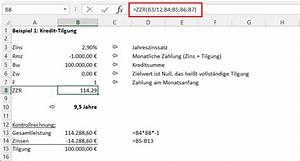 Zinsen Berechnen Kredit Formel : finanzmathematik teil 3 wie lange dauert 39 s noch der tabellen experte ~ Themetempest.com Abrechnung