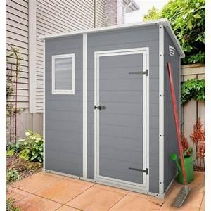 Abri De Jardin Pvc Toit Plat : premium 64 abri de jardin en pvc monopente achat ~ Dailycaller-alerts.com Idées de Décoration