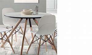 Table Scandinave But : table ronde scandinave ~ Teatrodelosmanantiales.com Idées de Décoration