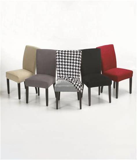 housse pour chaises salle manger housse extensible pour chaise harlow de salle à manger