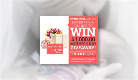 Mother's Day Giveaway!  One Field (us Only