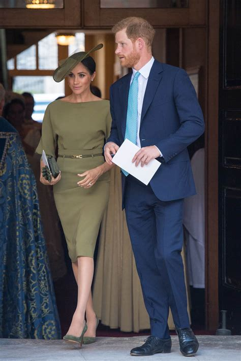 prince harry  meghan markle attend prince louiss