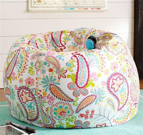 creative  colorful printed bean bag chairs