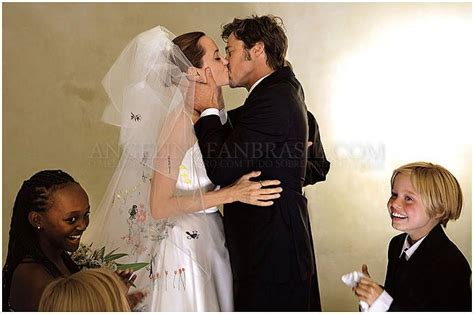 Brangelina Wedding Day Details