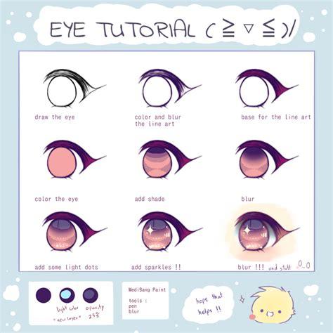 eye tutorial antay illustrations art street