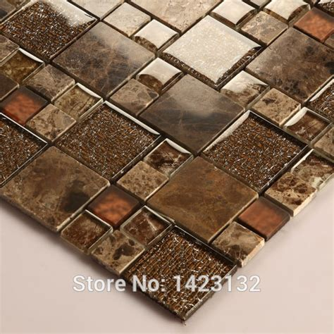 kitchen tile mosaics glass tile backsplash kitchen brown glass 3267