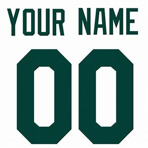 image gallery jersey letters and numbers With jersey letters and numbers