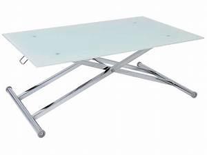 Table Basse Relevable Fly : table basse moov up vente de table basse conforama ~ Teatrodelosmanantiales.com Idées de Décoration