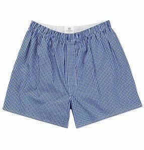 Sunspel Classic Cotton Boxer Shorts in Blue for Men | Lyst