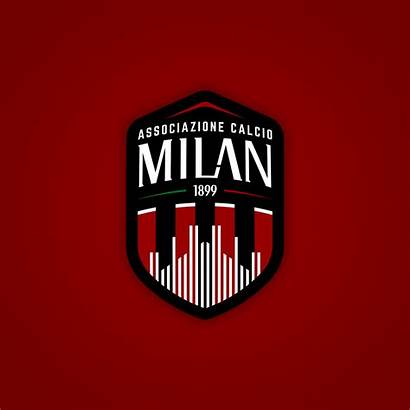 Milan Behance Rebranded Jerseys Ac Football