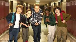 Stranger Things Boys Join Forces With James Corden Daily