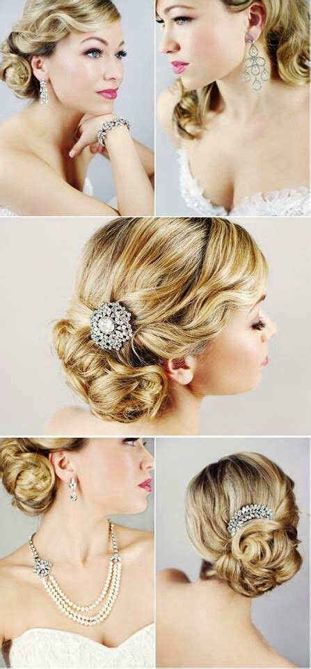 1920 Updo Hairstyles by 1920 S Style Updo For The Find A Vintage