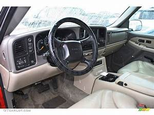 Neutral Tan  Shale Interior 2001 Gmc Yukon Xl Slt 4x4 Photo