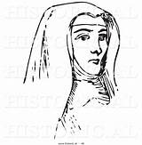 Nun Young Historical Picsburg sketch template