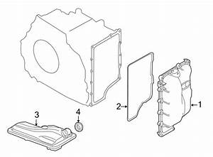 Lincoln Mkx Automatic Transmission Cover Gasket  Side