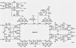 Tda8922 Audio Amplifier 2x25w