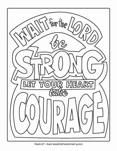 Coloring Pages Bible Story Spring Illustrated Children