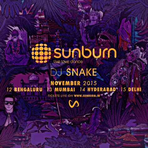 dj snake indian dj snake hyderabad concert tickets dj snake sunburn