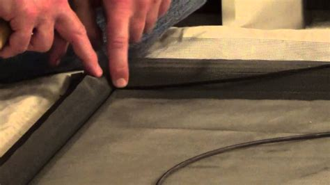 how to rescreen a screen door how to re screen how to