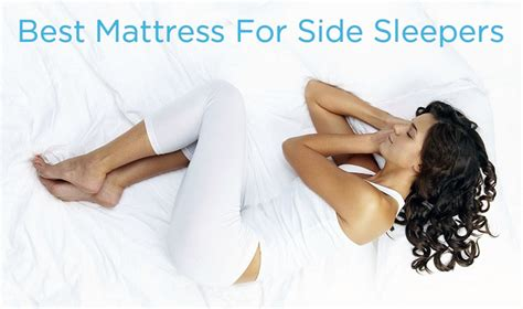 Best Beds For Side Sleepers by 5 Best Mattress For Side Sleeper For Back Relief