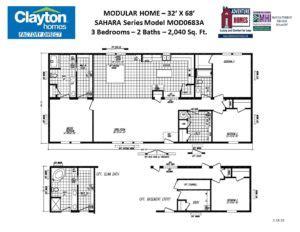 modular home floor plans  blueprints clayton factory direct