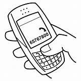 Coloring Pages Print Mobile Cell Printable Nokia Activities Smoke Celular Para Colorear Phone Text October Movil sketch template