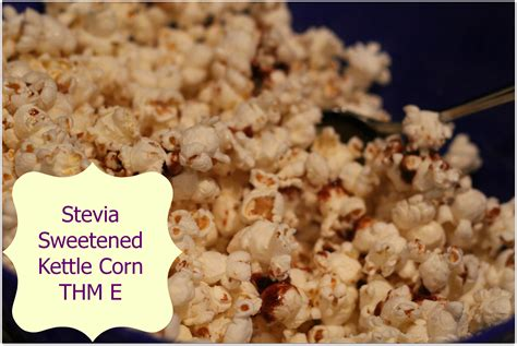 stevia sweetened kettle corn grassfed mama