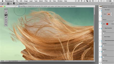 mask hair  photoshop quick tips  save  time
