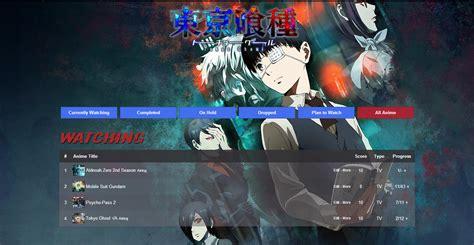 animelist tokyo ghoul tokyo ghoul list theme forums myanimelist net