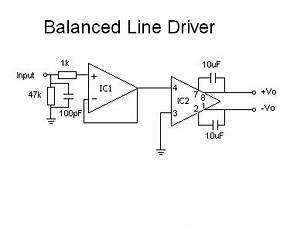 balanced line driver line receiver black widow audio With audio line driver
